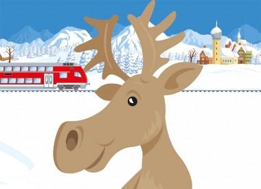 DB Regio online Illustration