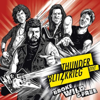 Comic Illustration CD Cover