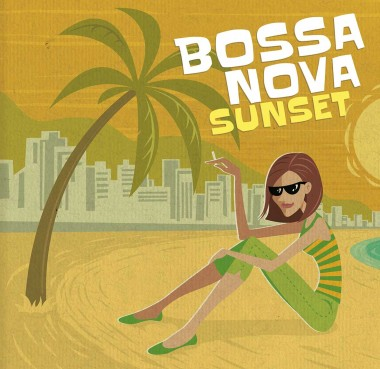 Illustration Brasilien Beach