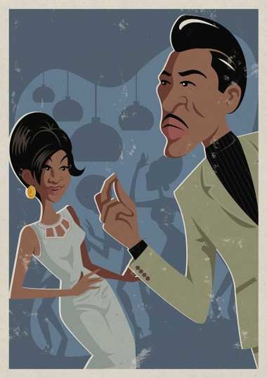 Soul Funk Poster Illustration