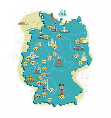 Infografik für Focus Editorial Auto und Mobilität Magazin