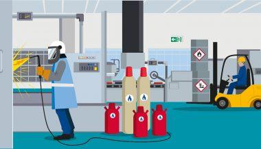 Illustration für E-Learning der TÜV Süd Akademie