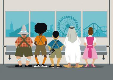 Illustration Oktoberfest , Wiesn 2019