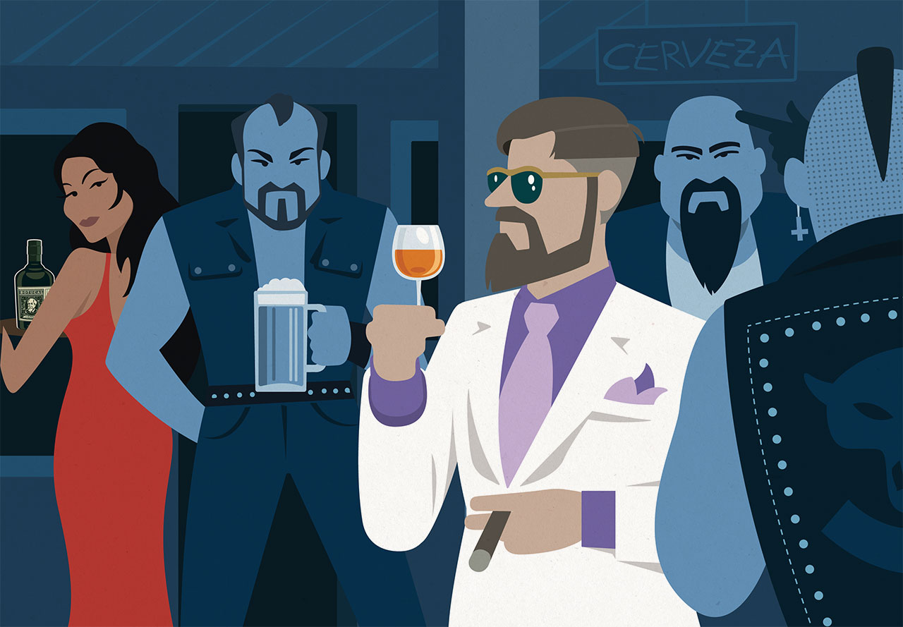 Illustration für Social Media